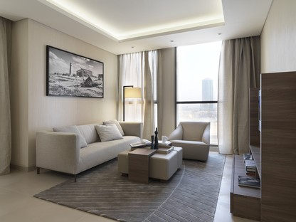 Matteo Nunziati und Fiandre für die Fraser Suites von Doha Qatar