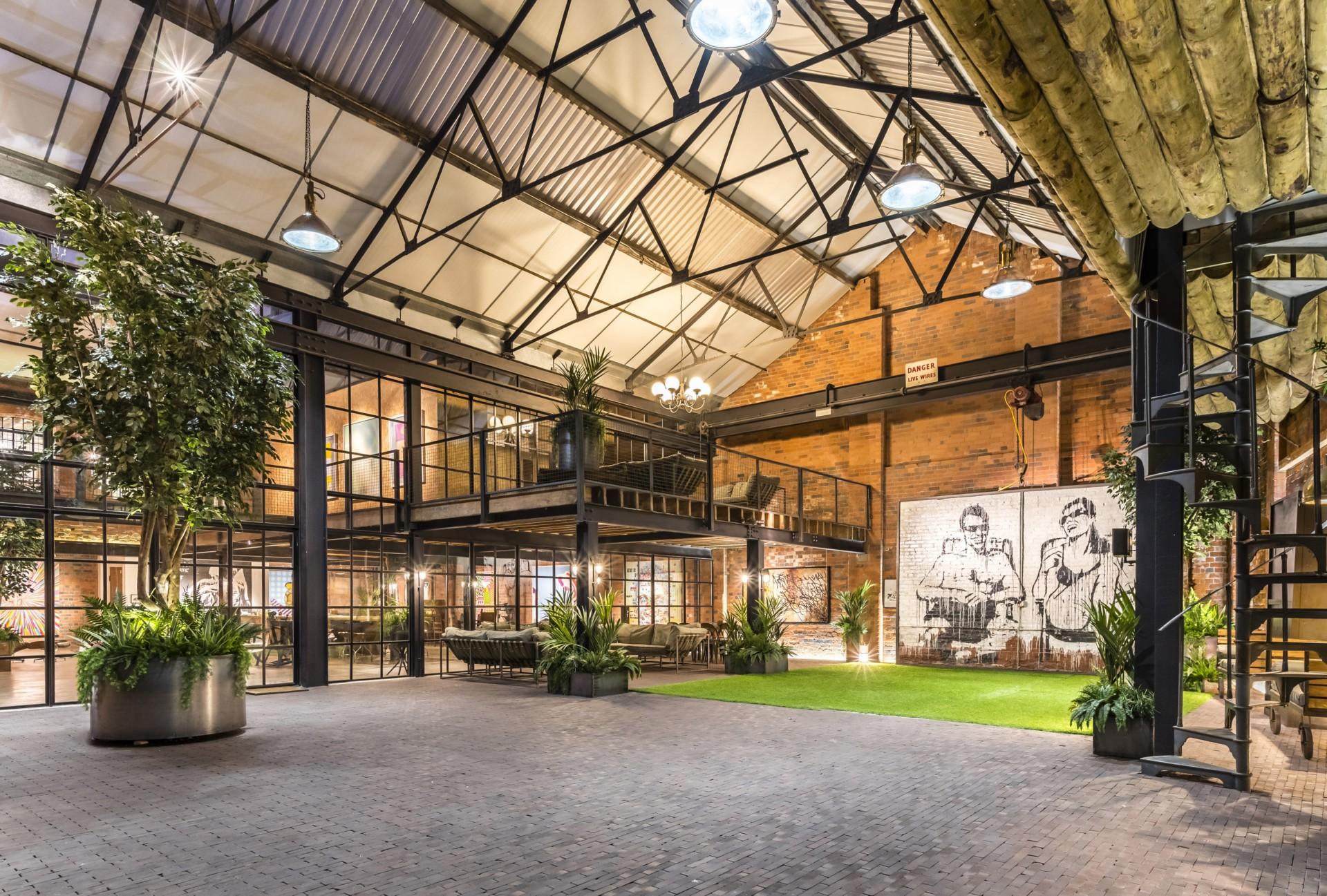 BPN Architects von einer Weberei zum kreativen Raum The Compound  Birmingham