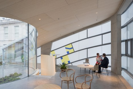 Steven Holl Architects Maggie's Centre Barts London