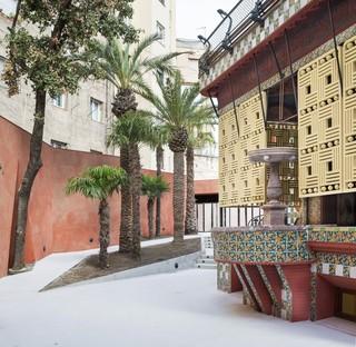 Casa Vicens Barcelona, das erste Bauwerk von Gaudí hat für das Publikum geöffnet