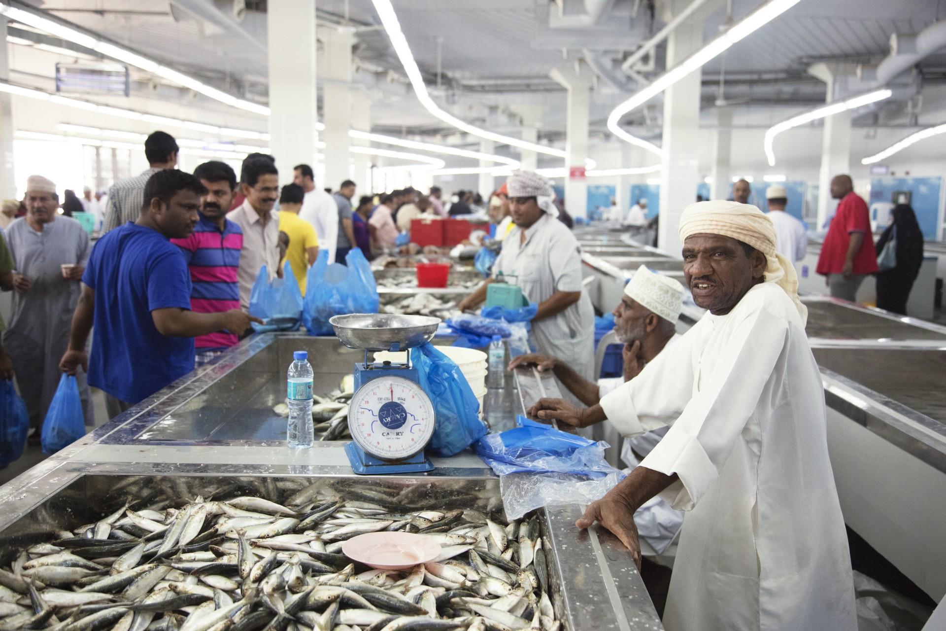 Snøhetta hat den Muttrah Fish Market im Oman fertiggestellt