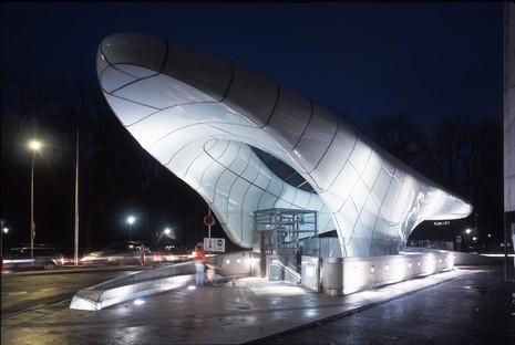 Zaha Hadid Die Hungerburgbahn in Innsbruck feiert 10 Jahre