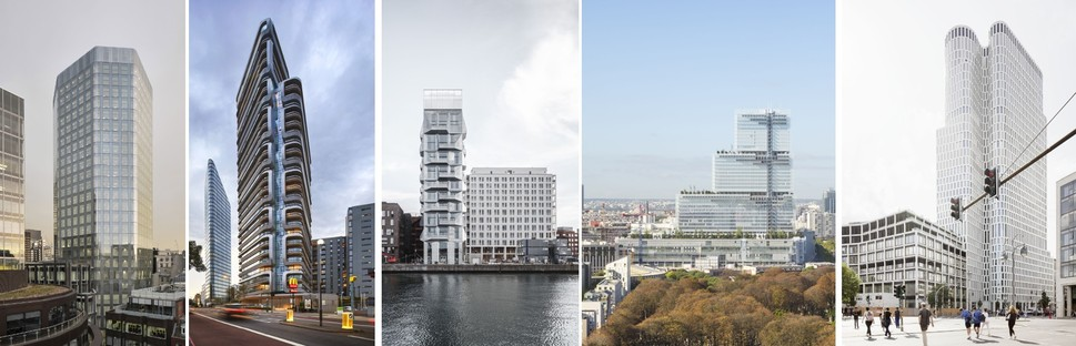 Die schönsten Wolkenkratzer Europas für die CTBUH Awards 2018