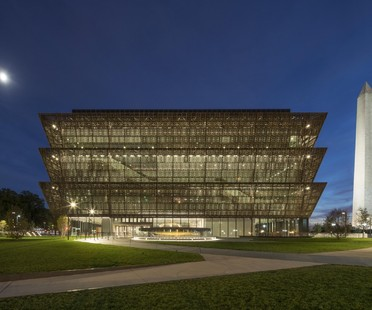 Washington Museum von David Adjaye ist Best Design of the Year 2017