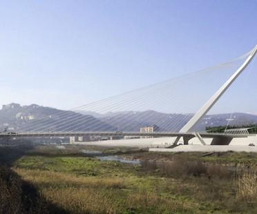 Eröffnung der neuen Brücke von Calatrava in Cosenza