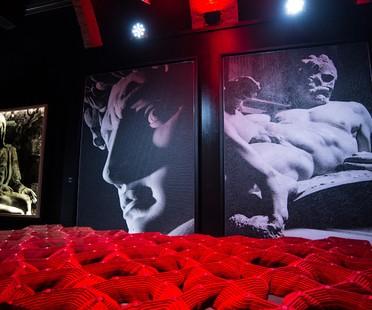 Ausstellung Aurelio Amendola: Michelangelo digitale Fresken und Umgebung Florenz