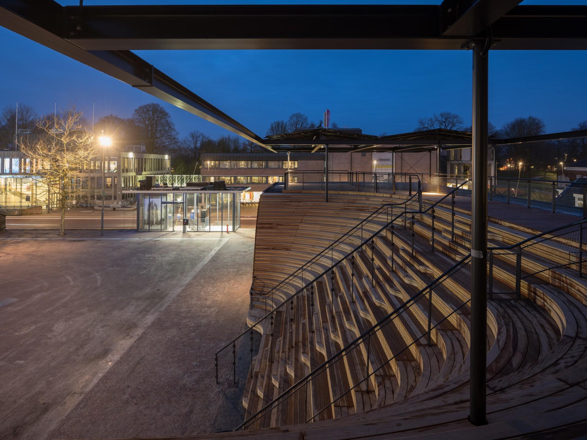 Powerhouse Company Obe-Pavillon bei Leeuwarden Europäische Kulturhauptstadt 2018