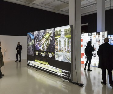 Ausstellung Dominique Perrault The Groundscape Experience Aedes Architecture Forum