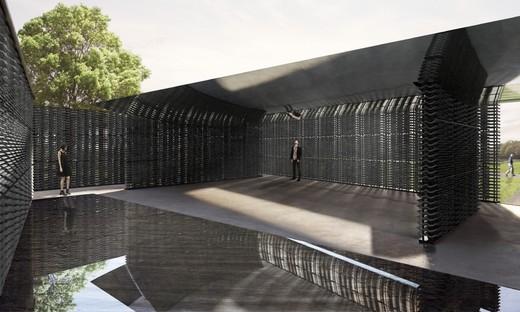 Frida Escobedo baut den Serpentine Pavilion 2018
