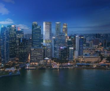 BIG und CRA Natur und Architektur im Wolkenkratzer Singapore Tower