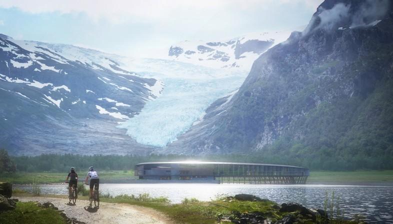 Snøhetta Svart das erste Plus-Energy-Hotel am arktischen Polarkreis