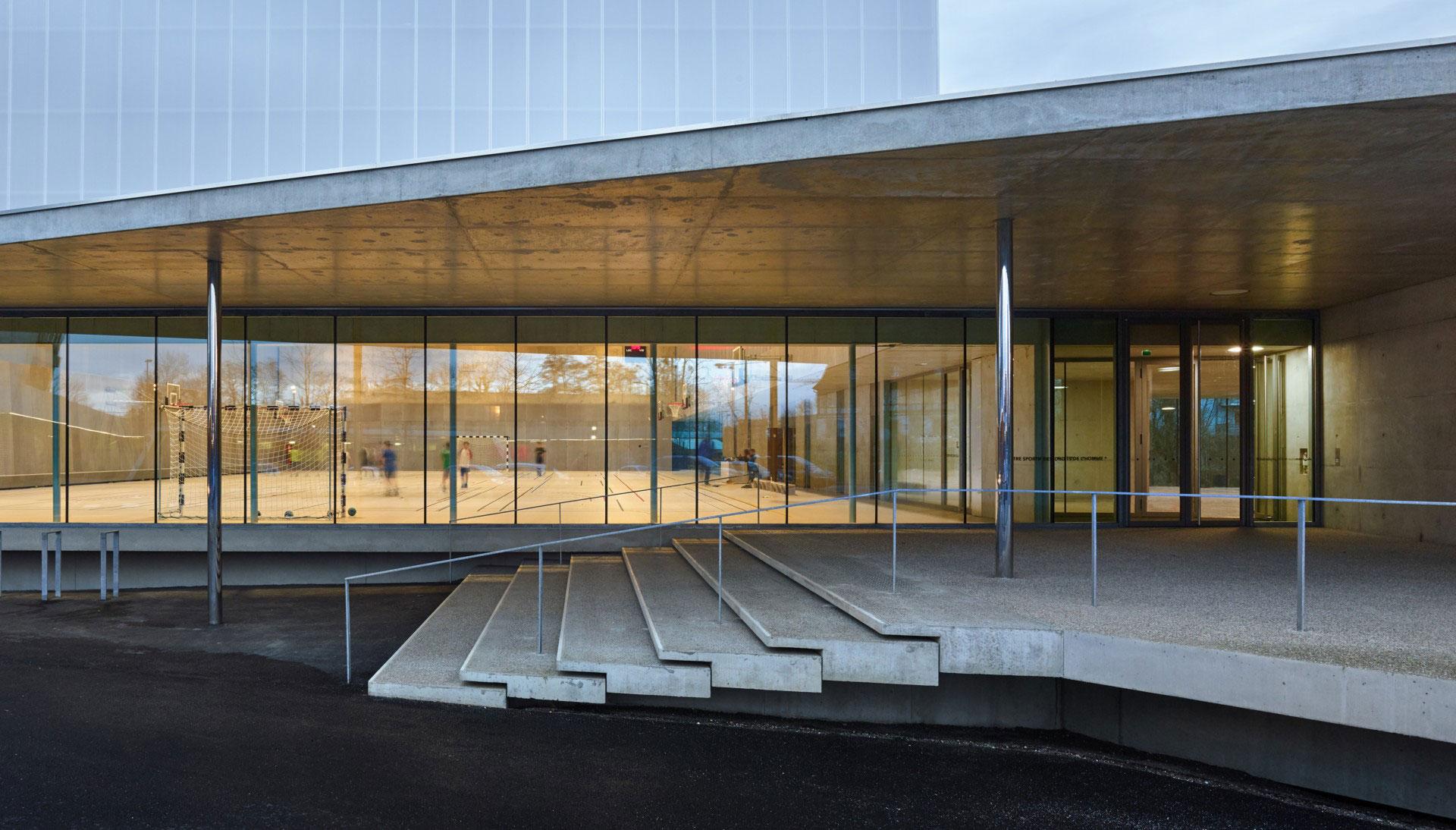 Dominique Coulon & associés Sportzentrum Menschenrechte Straßburg