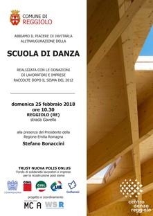 Mario Cucinella Tanzschule in Reggiolo
