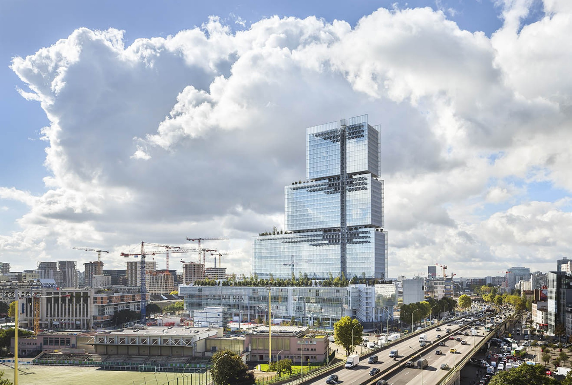 Renzo Piano Building Workshop Justizpalast von Paris