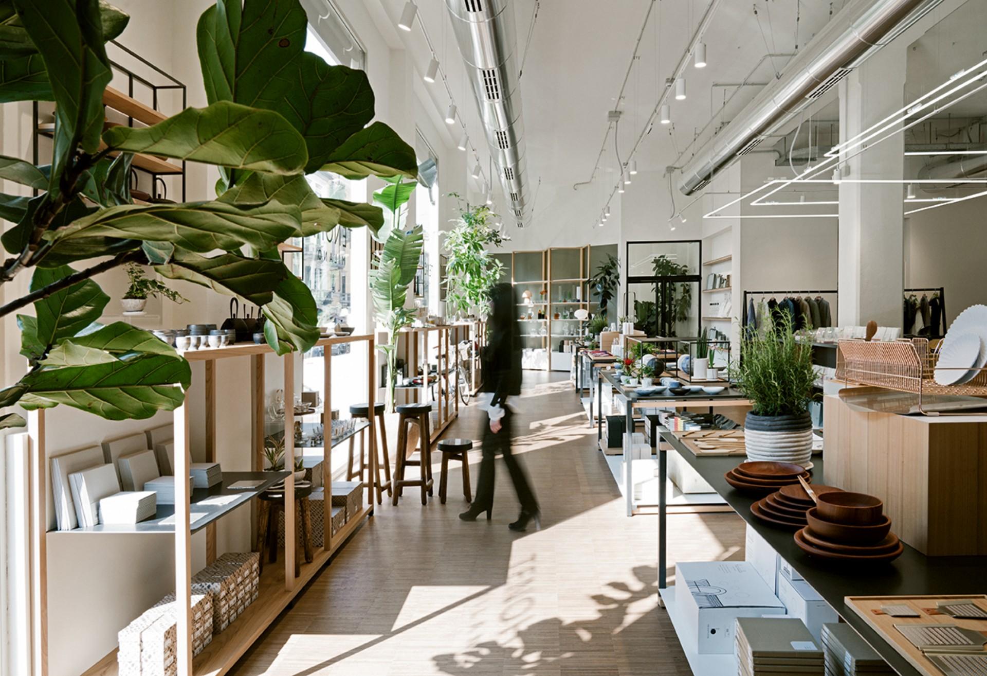 Japanische Atmosphaeren in Mailand zwischen Innenarchitektur und ...