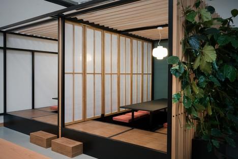 Japanische Atmosphären in Mailand zwischen Innenarchitektur und Kunst