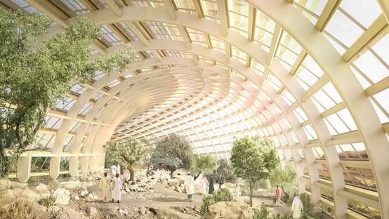 Arup, Grimshaw und HSD Haley Sharpe Design Oman Botanic Garden