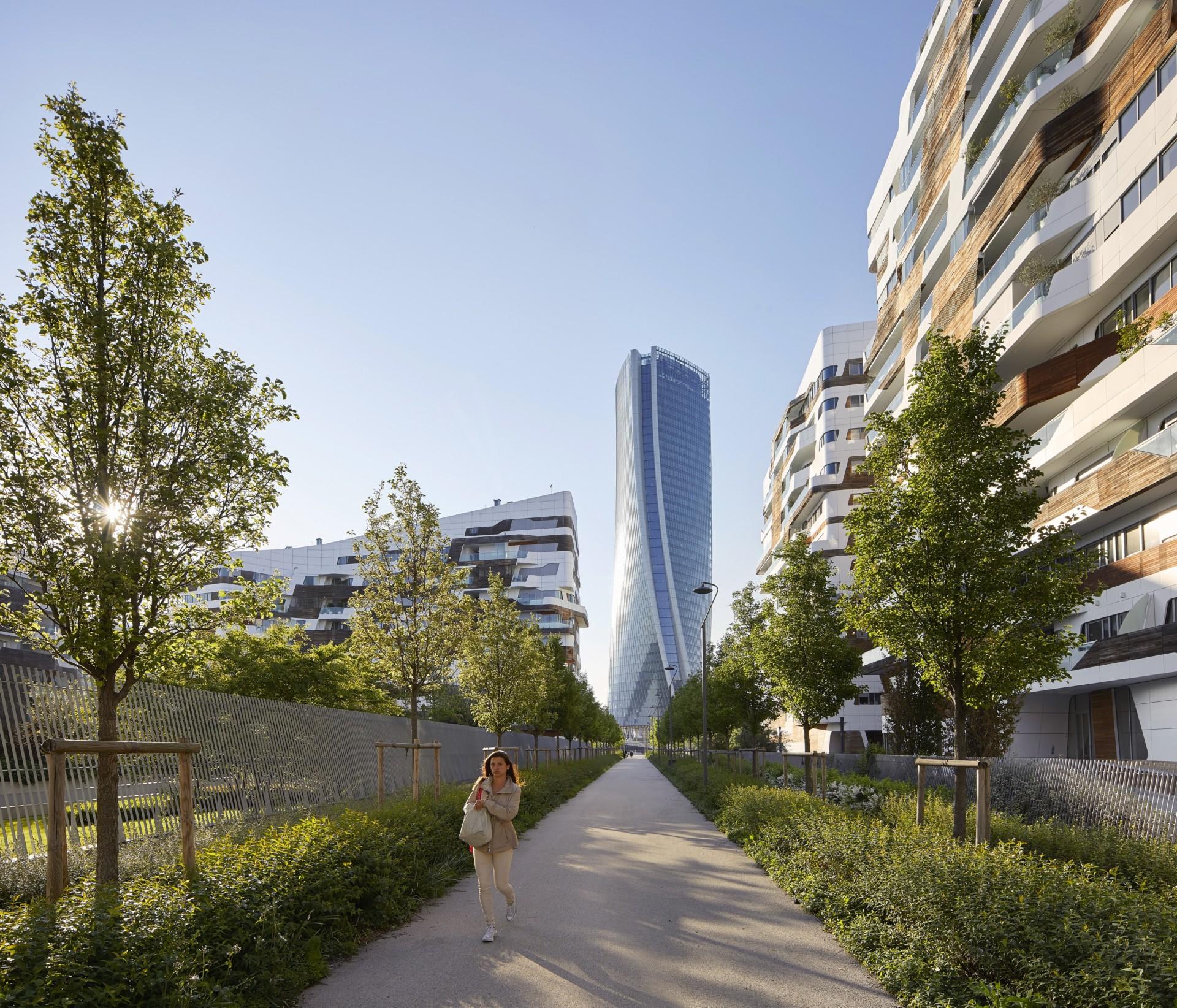 Zaha Hadid Architects Generali Tower Mailand Floornature