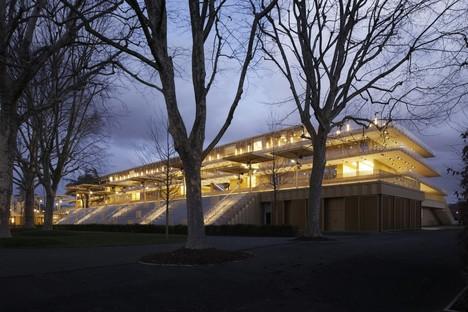 Dominique Perrault Architecte Neue Pferderennbahn Paris Longchamp