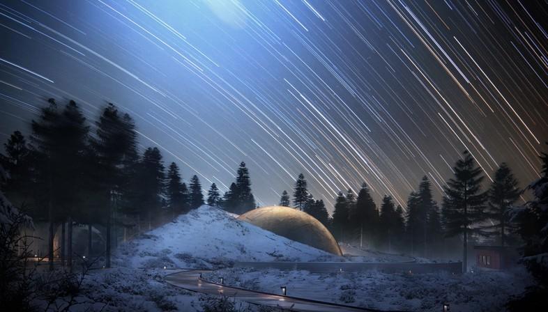 Snøhetta Planetarium und Besucherzentrum Solobservatoriet Norwegen