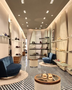 Vudafieri-Saverino Partners Boutique in Paris und New York