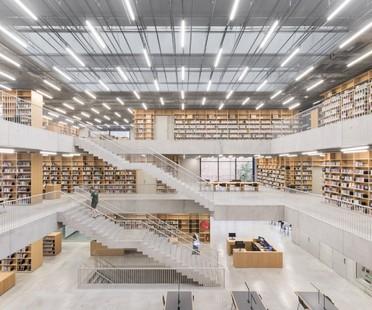 KAAN Architecten Utopia Bibliothek und Akademie der Darstellenden Künste in Aalst Belgien