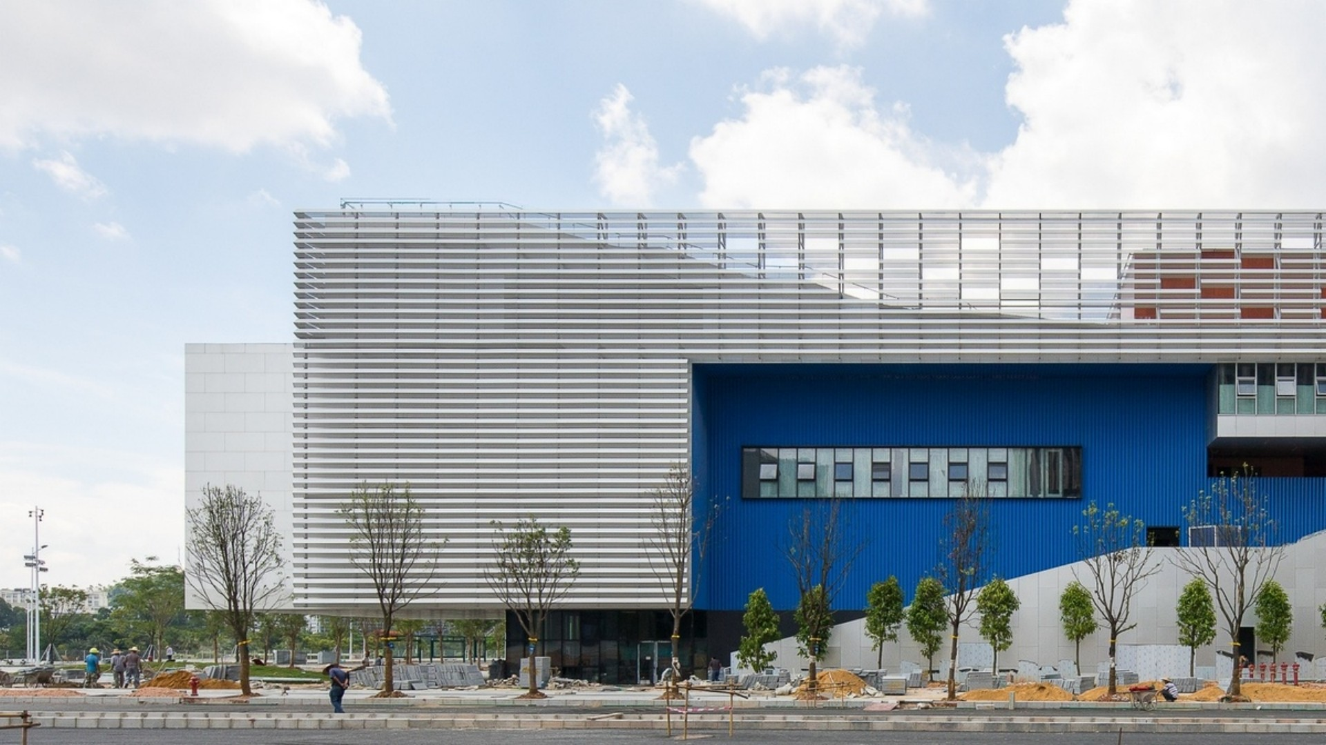 OPEN Architecture Pingshan Performing Arts Center in Shenzhen