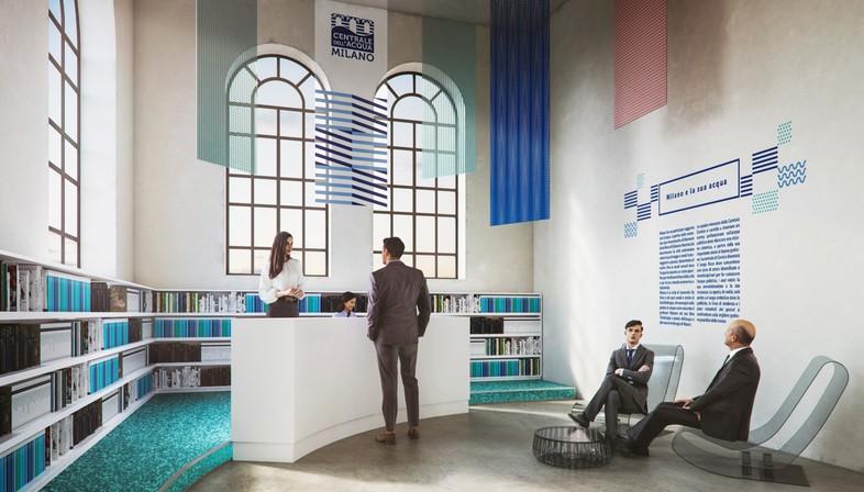 Lombardini22 FUD DEGW Centrale dell'Acqua di Milano, Wasserwerk von Mailand