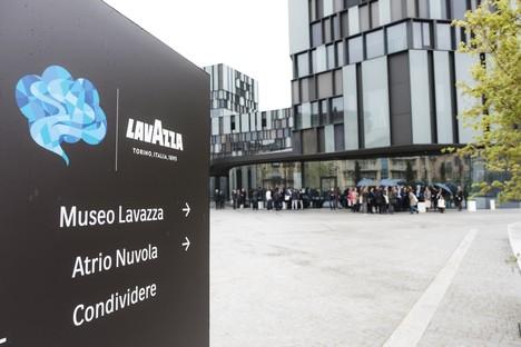 Cino Zucchi, Ferran Adrià und Federico Zanasi, Dante Ferretti und Ralph Appelbaum für Nuvola Lavazza Turin