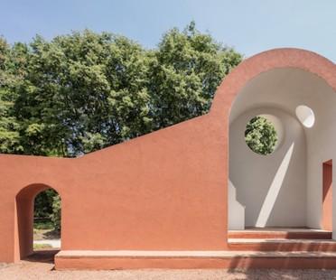 Vatican Chapels Besuch des Pavillons des Heiligen Stuhls auf der Biennale von Venedig