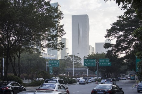 BIG hat den neuen Wolkenkratzer Shenzhen Energy Mansion vollendet