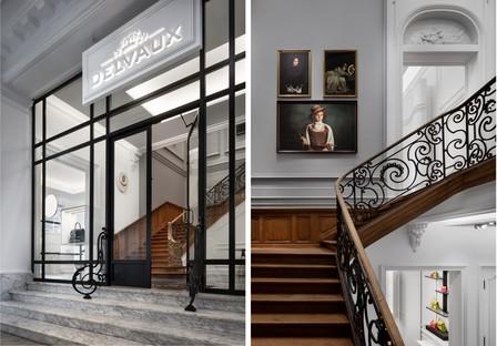 Vudafieri-Saverino Partners Boutique Architektur und Mode in Madrid und Brüssel