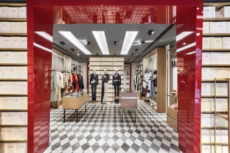 Vudafieri-Saverino Partners Boutique Architektur und Mode in Madrid und Brüssel