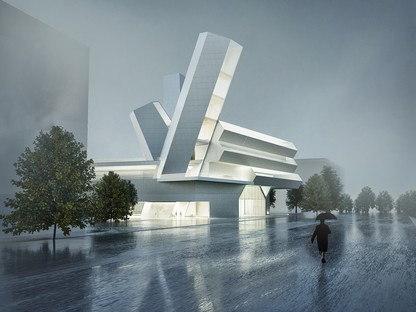 Steven Holl Architects Future Campus des University College von Dublin