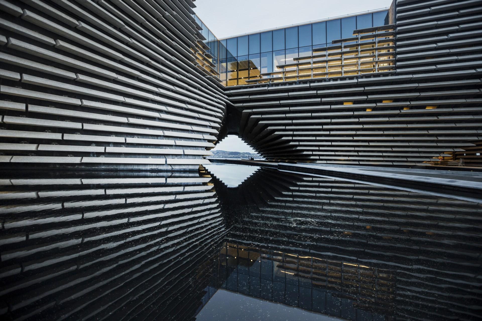 Kengo Kuma V&A Dundee Schottland