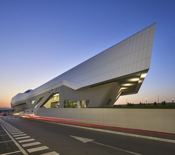 Zaha Hadid Architects High Speed Train Station Napoli-Afragola