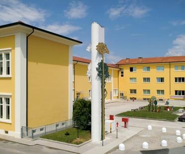 Fiandre und Zanutta SpA für die Mosaikschule des Friaul
