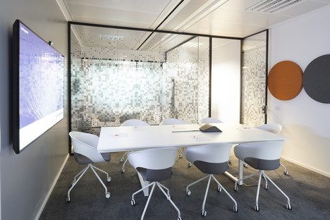 Progetto CMR - Massimo Roj Architects zeitgenössische Büros in Mailand