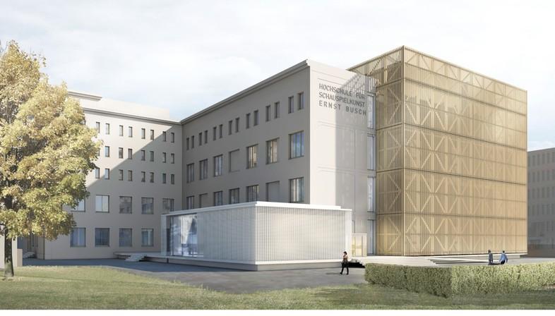 O&O Baukunst Hochschule für Schauspielkunst Ernst Busch, Berlin