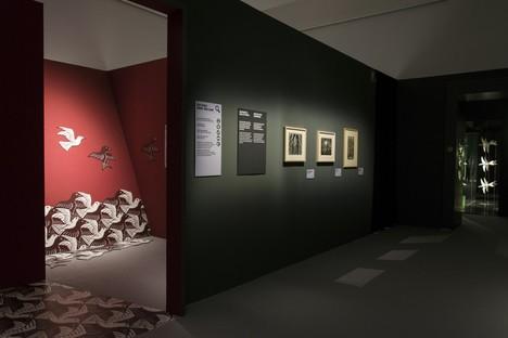 Escher Ausstellung im PAN Palast der Künste Neapel