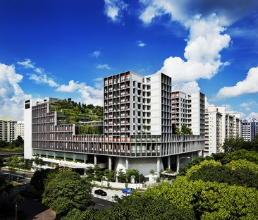 World Building of the Year Award 2018  Kampung Admiralty von WOHA