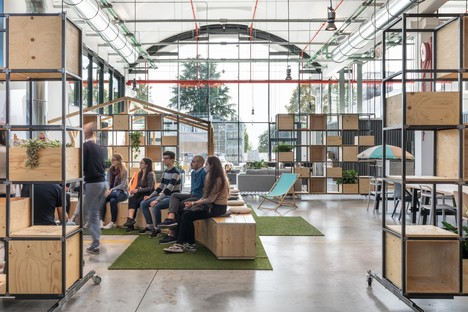 DEGW von Lombardini22 hat die Innovation Factory Electrolux entworfen