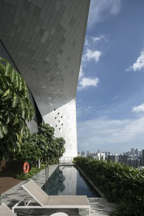 Singapur, The Scotts Tower von UNStudio fertig