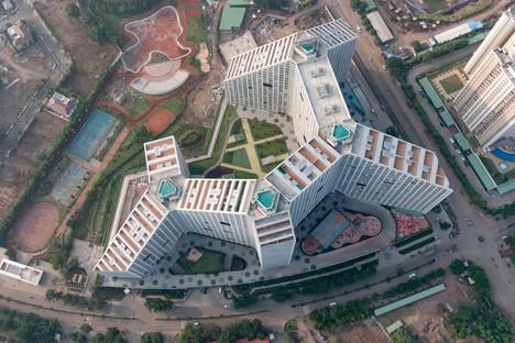 MVRDV Future Towers - Amanora Park Town Pune Indien