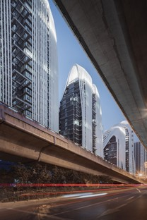 Letzte Bauphase des Nanjing Zendai Himalayas Center von MAD Architects