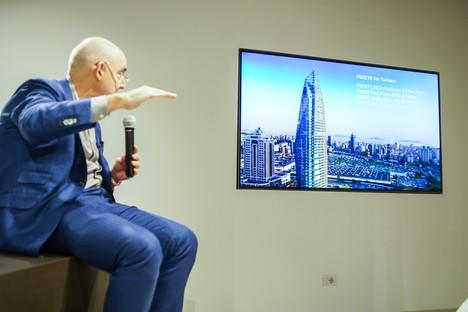 Dan Kaplan in SpazioFMG, die Architekturen von FXCollaborative