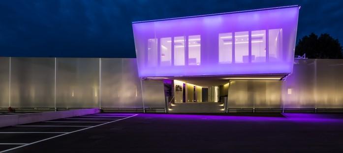 iarchitects baut den neuen und symbolträchtigen Firmensitz von Gotha Cosmetics