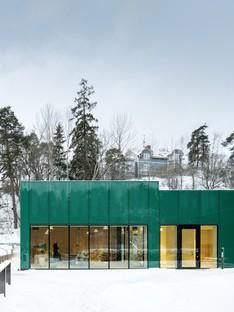 Wingårdh Arkitektkontor Erweiterung des Sundbyberg Cemetery Pavilion