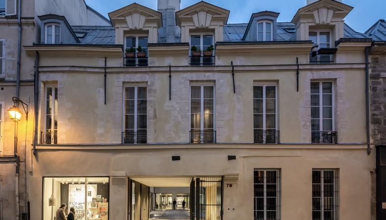 Lobjoy-Bouvier-Boisseau Architecture ein Gebäude für zwei Stiftungen in Paris