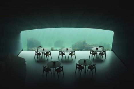 Under das Restaurant unter dem Meer von Snøhetta